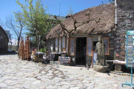 O'Cebreiro zonder toeristen is mooi om te zien.