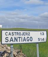 De Spaanse Meseta met windmolens.