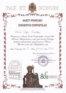 Compostela Franciscaanse