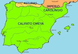 Spanje rond 750