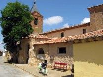 Kerkje in El Burgo Ranero