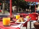 Een heerlijk desayuno in Belorado