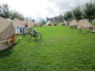 Georganiseerde fietsreis naar santiago