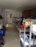 Logroño, slaapzaal in albergue