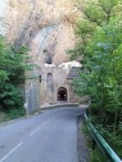 San Juan de la Peña, oud monasterio in de rotsen uitgehakt